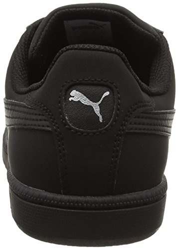 Puma Smash Buck, Zapatillas Unisex Adulto Negro (Black/Puma Silver 22)