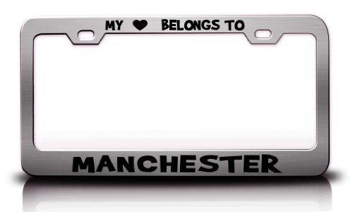 manchester united car tag - 9