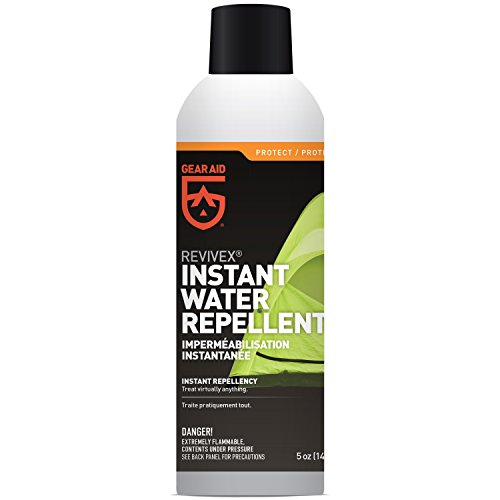 Gear Aid Revivex Instant Waterproofing Spray for Tents, Shoes and Outdoor Fabric, 5 oz