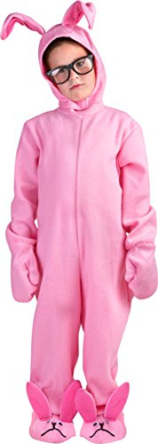 [Childs Christmas Story Rabbit Costume Size Small 7-10] (Ralphie Glasses For Costume)