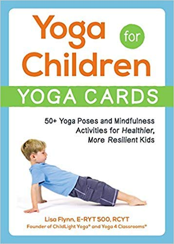 Amazon.com : [By Lisa Flynn ] Yoga for Children Yoga Cards ...