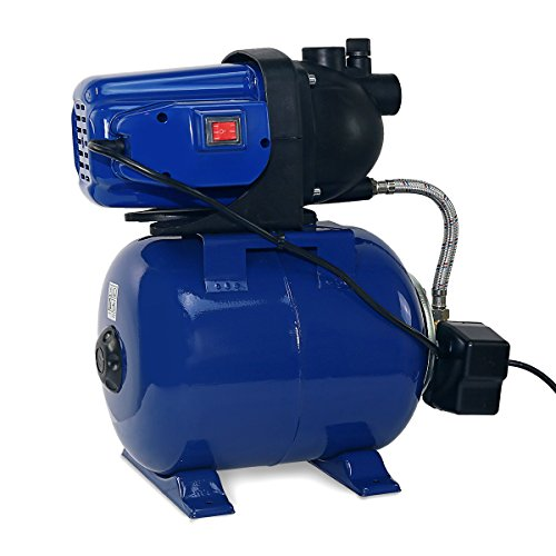 1.6 HP Shallow Jet Water Well Pump With Tank Garden Sprinkler System