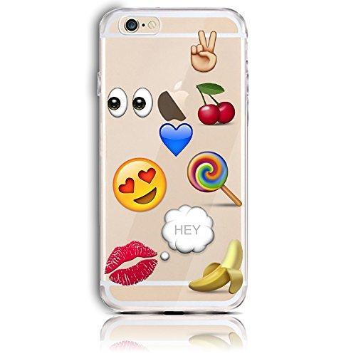Transparente TPU Funda para iPhone 5s se 5 Silicona Gel Sunroyal® Resistente a los Arañazos en su Parte Trasera Flexible Bumper Case Cover [Anti-Gota] [Choque Absorción] Ultra Fina Protectora Alta Cal A-15