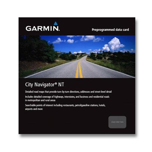 Garmin Garmin City Navigator Australia and New Zealand NT (High Resolution Fishfinder)