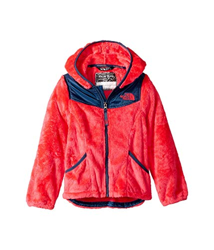 The North Face Kids Girl's OSO Hoodie (Little Kids/Big Kids) Atomic Pink Small