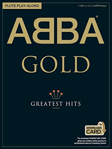 ABBA Oro Greatest Hits Flauta Play-Along Partituras MusicSales