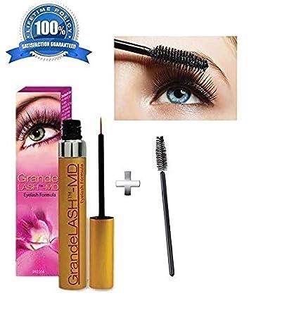 3e61b398bf0 Amazon.com: eye lash serum (grand-lash serum) 2ml+mascara brush bonus.:  Beauty
