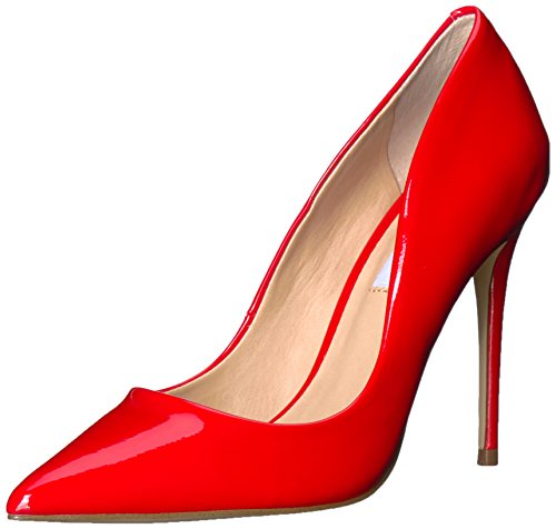 Steve Madden Women's Daisie Pump, Red, 7.5 M US ()