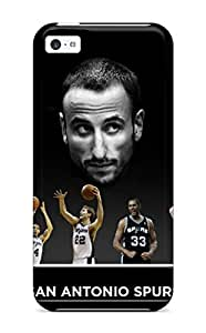 5c Scratch-proof Protection Case Cover For Iphone/ Hot San Antonio Spurs Basketball Nba (25) Phone Case