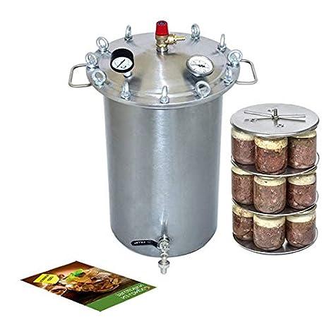 Amazon.com: Big Autoclave Fansel 37 litros para hacer ...