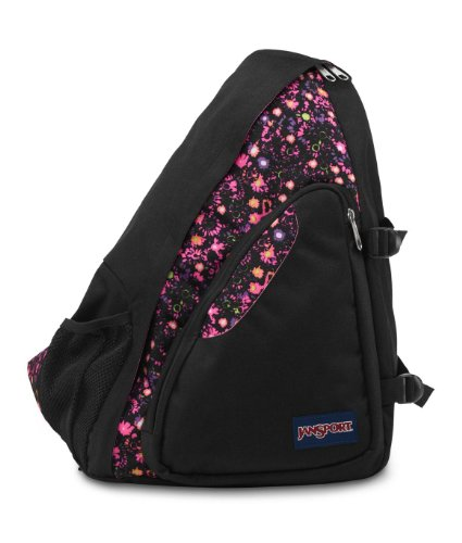 JanSport Air Cisco Backpack, Pink Pansy Ditzy Daisy (Jansport Backpacks Sling)