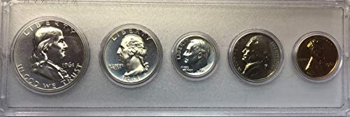 1961 P Silver US Proof Set - 1961 Coin