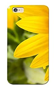 Inthebeauty Anti-scratch And Shatterproof Sunflowers Phone Case For Iphone 6/ High Quality Tpu Case
