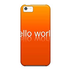 meilz aiaiHot Covers Cases For Iphone/ 5c Cases Covers Skin - Hello Worldmeilz aiai