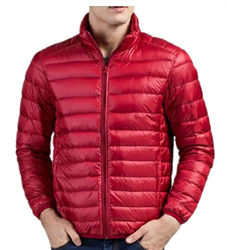 Jacket Weatherproof security Down Packable Jacket Red Men's tBtvwIqzx