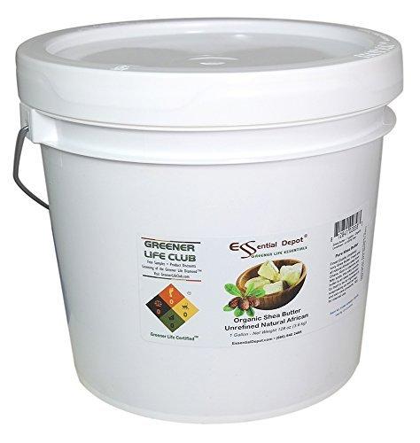 Shea Butter - Organic Grade A - Premium Unrefined - 1 Gallon (8 pounds) by Essential Depot (Image #4)