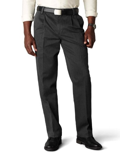 dockers-mens-classic-fit-signature-khaki-pant-pleated-d3-charcoal-heather-cotton-discontinued-40w-x-