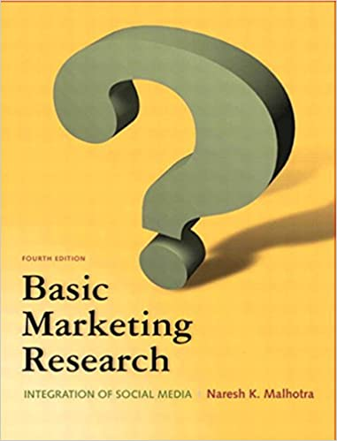 Basic marketing research & qualtrics pkg (3rd edition) by malhotra.