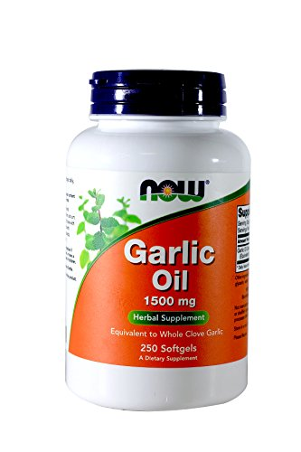 Now Foods – Garlic Oil, 1500 mg, 250 Softgels For Sale