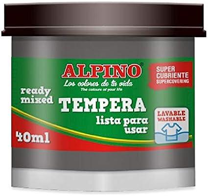 Alpino DM010209 - Estuche 5 témperas: Amazon.es: Oficina y papelería