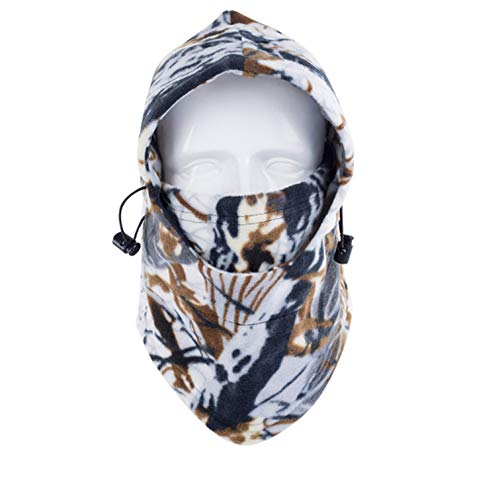 Winter Face and Neck Warmers Fleece Camouflage Cap Trekking Riding Ski Hunting Thermal Hat Wind-Proof Mask