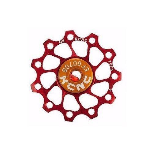 2PC 1 PAIR **KCNC Jockey Wheel Pulley Ultra Light 13T Shimano Campagnolo SRAM BIKE - RED