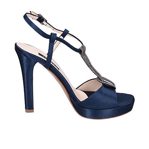 Bleu Sandales Sandales Albano Femme Satin Femme Albano Satin Femme Bleu Albano Sandales Satin gz6YwnqaB
