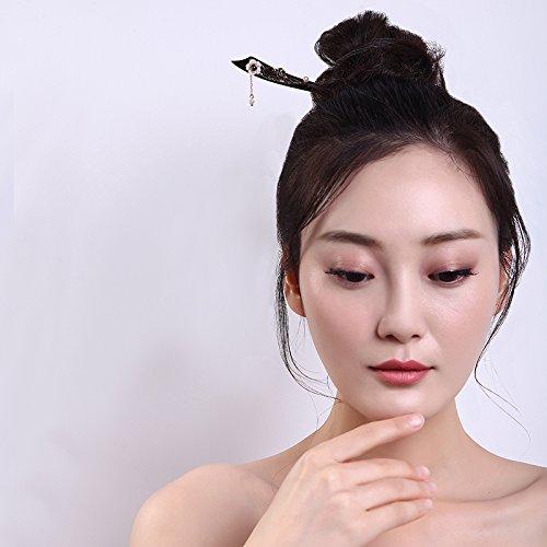 phoenix nirvana hairpin ebony court tassels step shake plate hair hair coil twist ball head hair accessories