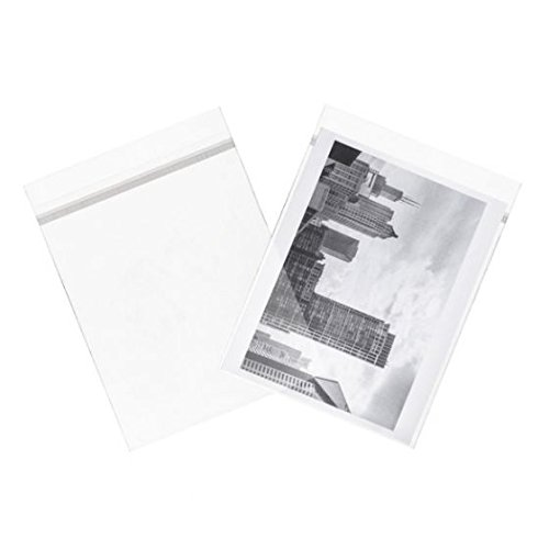 ClearBags 3 x 5 Crystal Clear Seal Top Bags With Resealable Adhesive on Flap, Not Bag | Art Sleeve Protects Photos, Artwork, Cards, 4 Bar Envelopes | Acid Free & (Crystals Adhesive Embellishments)