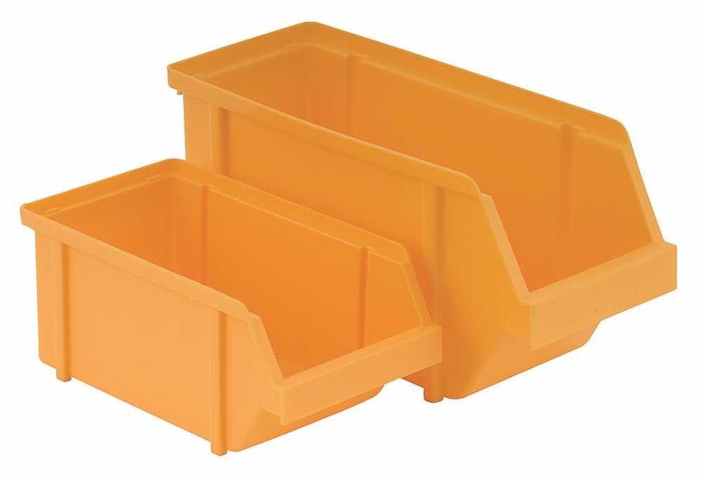 National Brand Alternative 803841 Plastic Bin Yellow