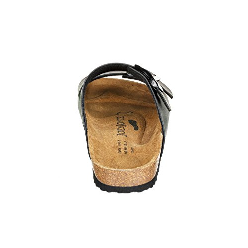 JOE N JOYCE London SynSoft Suelo blando sandalias estrecho Black