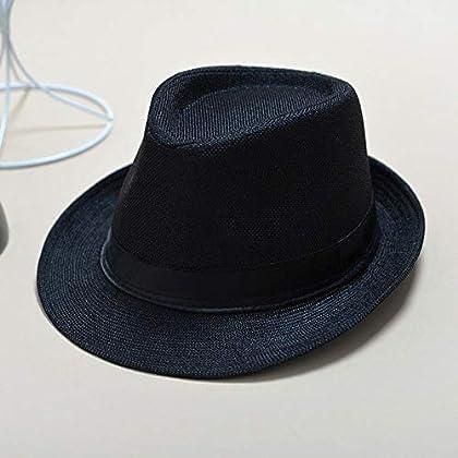 Vimart Fashion Summer Cool Panama Wide Brim Fedora Straw Made Indiana Jones  Style Hat (Gray) c0e7c929a8c
