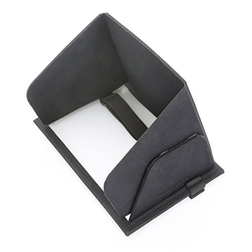 Collapsible Molded iPad Sun Shade and Privacy Hood iPad 2 iPad Air Case Travel Cover Sun Shield Sun Blocker Sun Guard Sun Protector