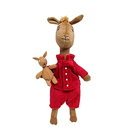ad2d1a6346 Image Unavailable. Image not available for. Color  Kids Preferred Llama  Llama Red Pajama ...