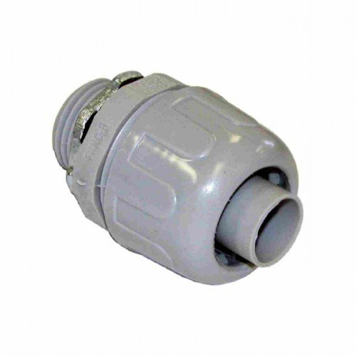 Orbit NMLT-50 Connector, 1/2'' Liquid Tight PVC Non-Metallic Straight