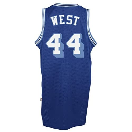 3533f8b00 Jerry West Los Angeles Lakers Adidas NBA Throwback Swingman Jersey - Blue  cheap