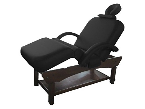 Stationary Self Adjustable Face Cradle Cushion Flexible Armrest Massage Table by TOA Supply