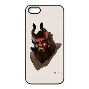 iphone5 5s Black phone case Beastmaster Dota 2 DOT5945638