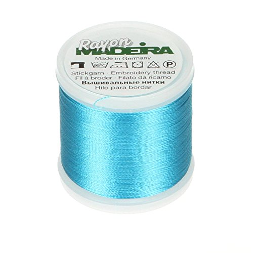 Tacony Corporation 9840-1094 Madeira Rayon Thread Size 40 200 Meters-Medium Turquoise
