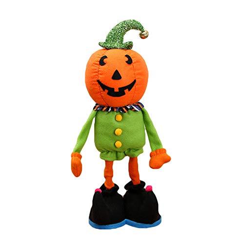 lightclub Halloween Cartoon Doll Pumpkin Witch Cat Party