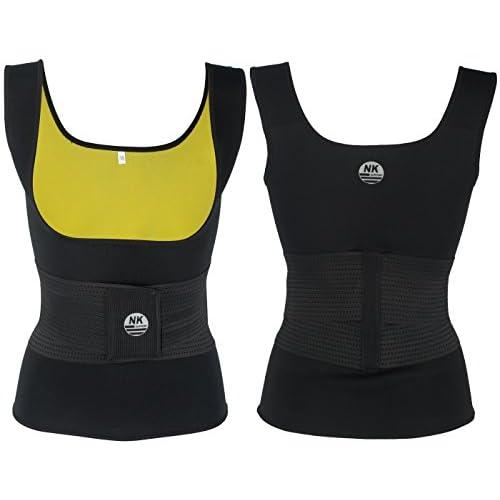 1221a01c6e DODOING Adjustable Womens Hot Sweat Sauna Waist Trainer Vest Neoprene Tank  Top Body Shaper Shirt Tummy