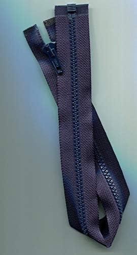 17 inch Dark Navy Blue /& Vislon Separating Zipper Ideal New!