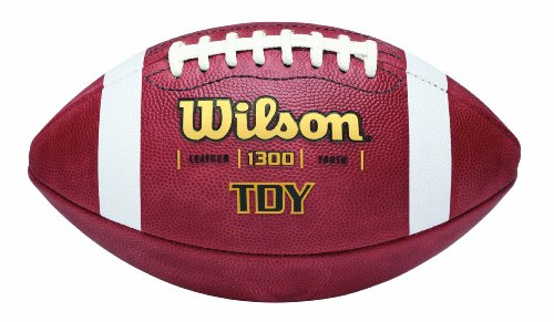 Wilson TDY Youth Leather Game Football (Wilson Football Leather)