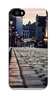iPhone 5 5S Case London Sidewalk 3D Custom iPhone 5 5S Case Cover Kimberly Kurzendoerfer