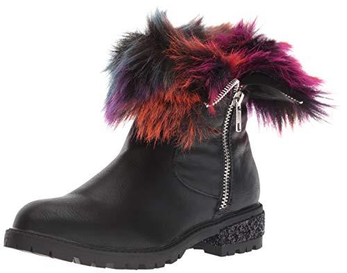 - Steve Madden Girls' JNORTHIE Fashion Boot, Black/Multi, 13 M US Little Kid