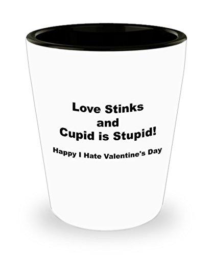 I Love Tequila Shot Glass - Valentine's Day Gift