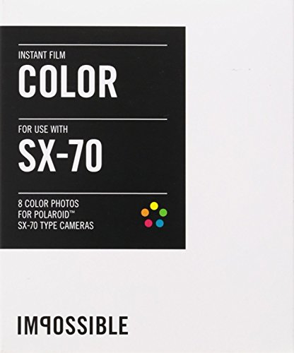 Impossible PRD2783 Color Film for Polaroid Sx-70 Cameras 3-Pack by The Impossible Project