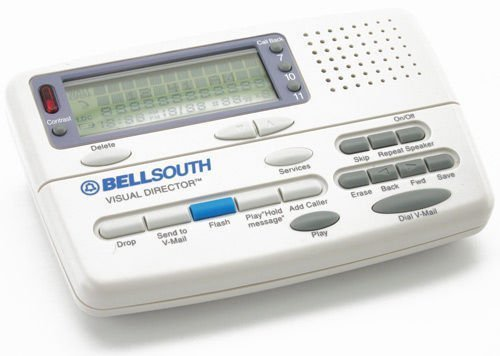 BellSouth Caller ID Box Call Waiting Deluxe Memory with Voice Mail CI-7112 (Large Screen Id Caller)