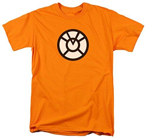 Agent Yellow T-shirt (DC Comics Men's Green Lantern Agent T-Shirt, Orange,)