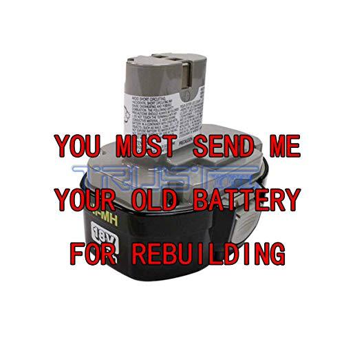 Rebuild Service Makita MAK193159-1 Pod Battery 18-Volt NI-MH
